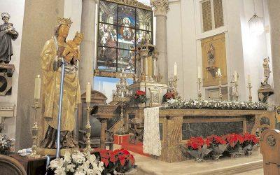 Visita de la imagen de Nuestra Señora de la Almudena — Nuevos Congregantes