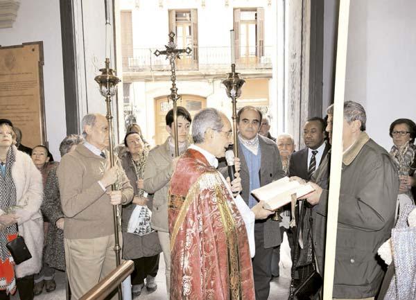 Celebraciones de Semana Santa en el Oratorio