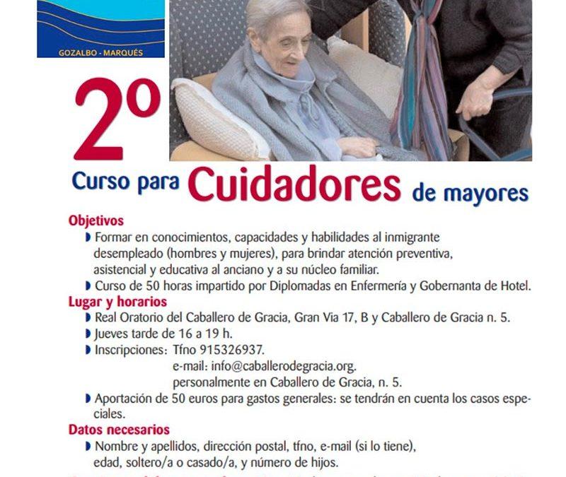 2º de mayores Curso para Cuidadores de mayores