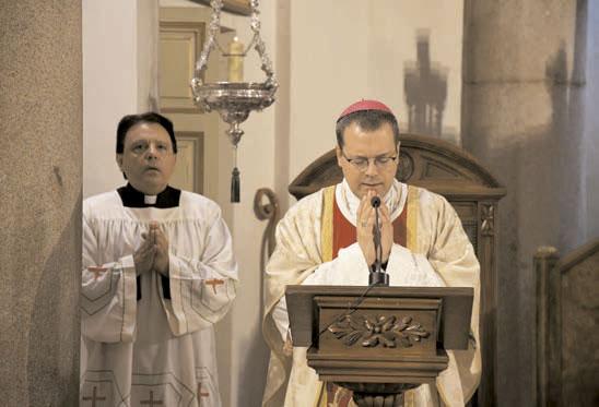 Misa de Mons. D. Jesús Vidal en el Oratorio
