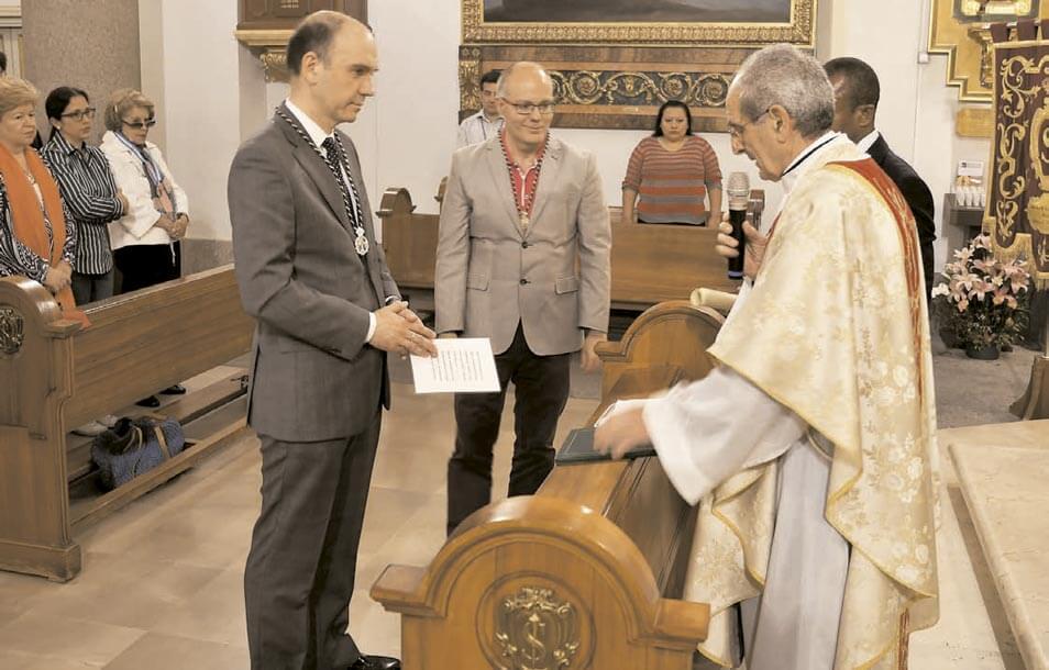 Santa Misa del IV Centenario del Caballero de Gracia y nueva incorporación a la Asociación Eucarística