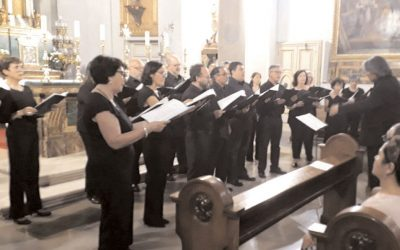 Concierto del grupo vocal «Exaudi Vitae»