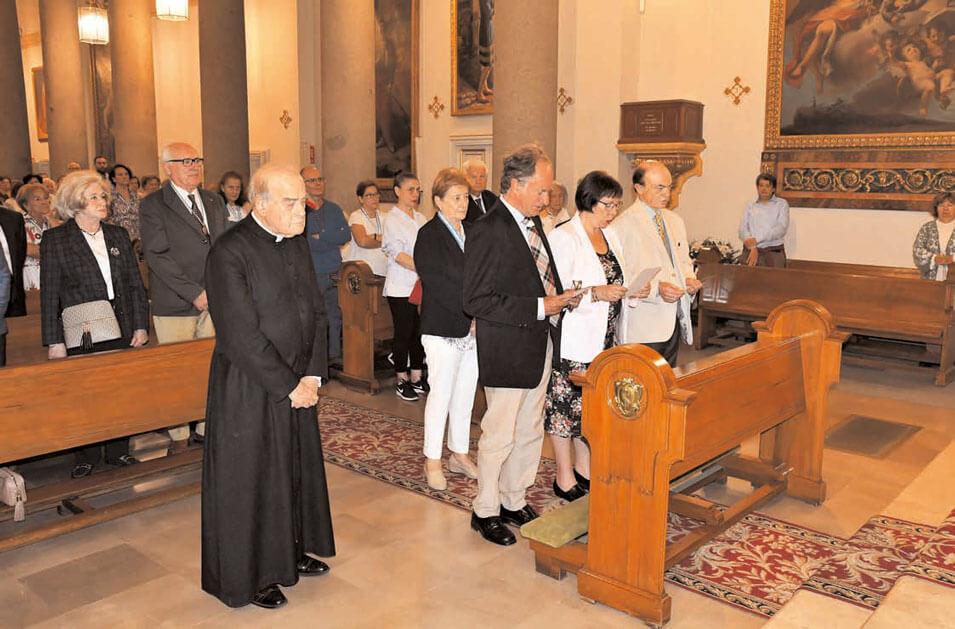 Incorporación de nuevos congregantes