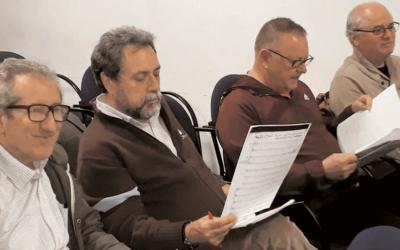 Ensayos del Coro y un proyecto en marcha